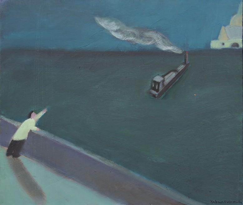Уплывший пароход